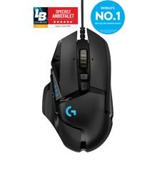 Logitech - G502 Trådløs Lightspeed Sort Gamer Mus