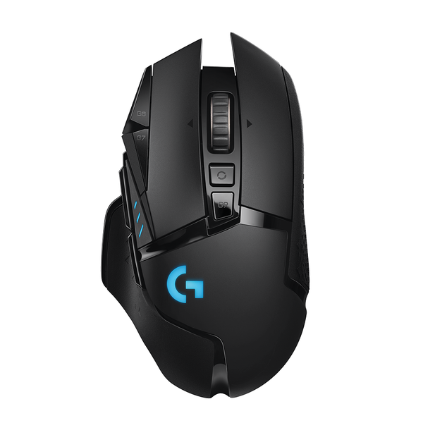?Logitech - G502 Wireless Lightspeed Black Gamer Mouse