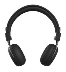 KreaFunk - aWEAR Headphones - Black Edition/Gun Metal (KDWT90)