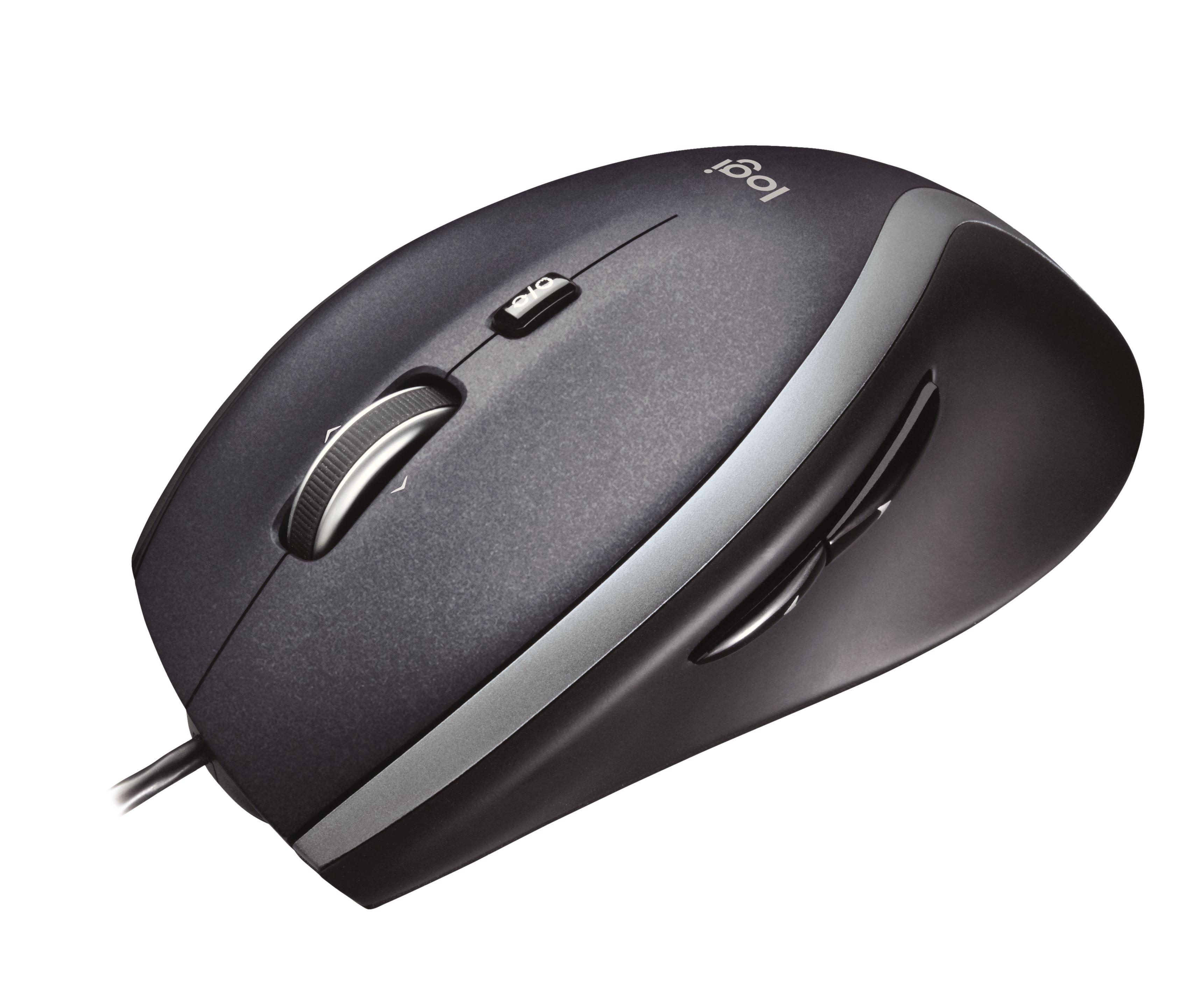 Logitech - Corded Mouse M500