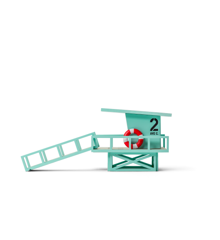 Candylab - Stac - Malibu Livreddertårn