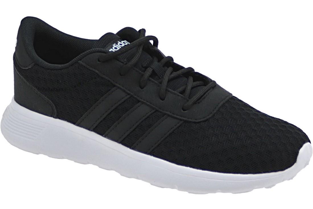 Boda blanco lechoso Polinizar  Buy Adidas Neo Lite Racer W AW4960, Womens, Black, sports shoes