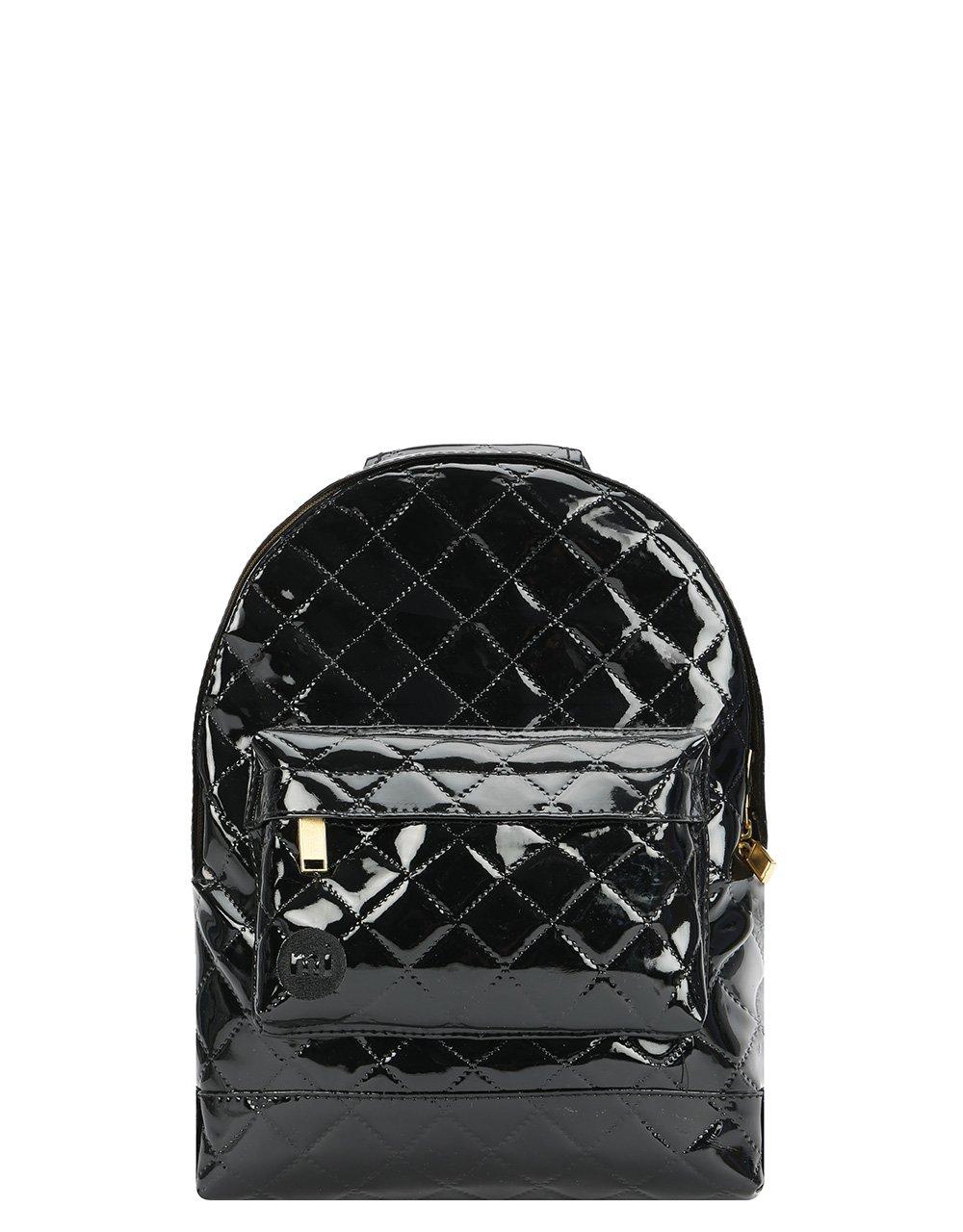 Mi-Pac - Mini Backpack - Patent Quilt - Black (740416-S65)