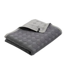 HAY - Mega Dot Bedcover 260 x 260 cm - Dark Grey (505281)