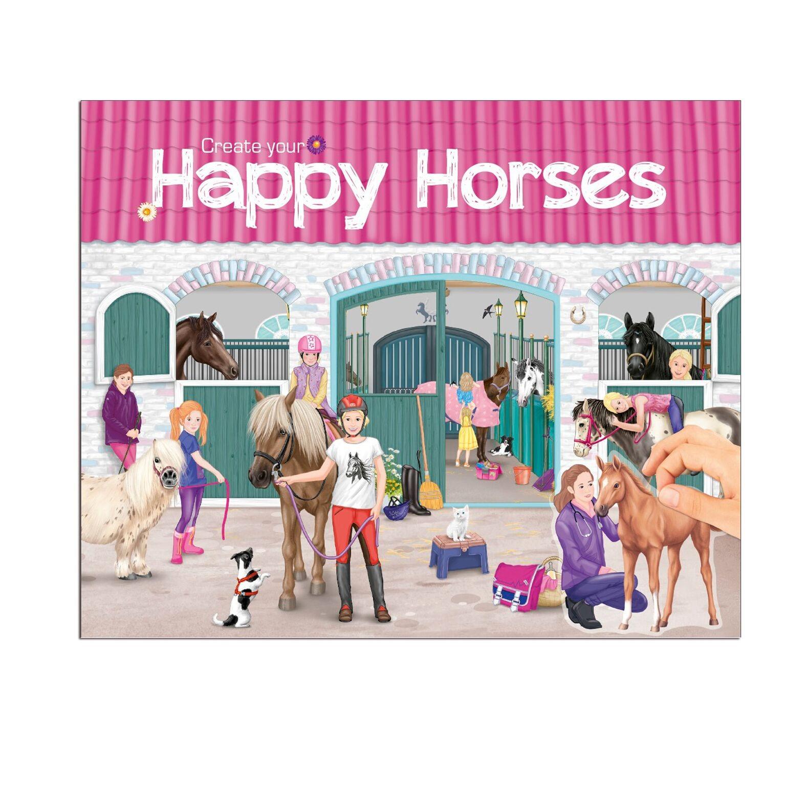 Creative Studio - Create your Happy Horses Pysselbok (bokmoms)
