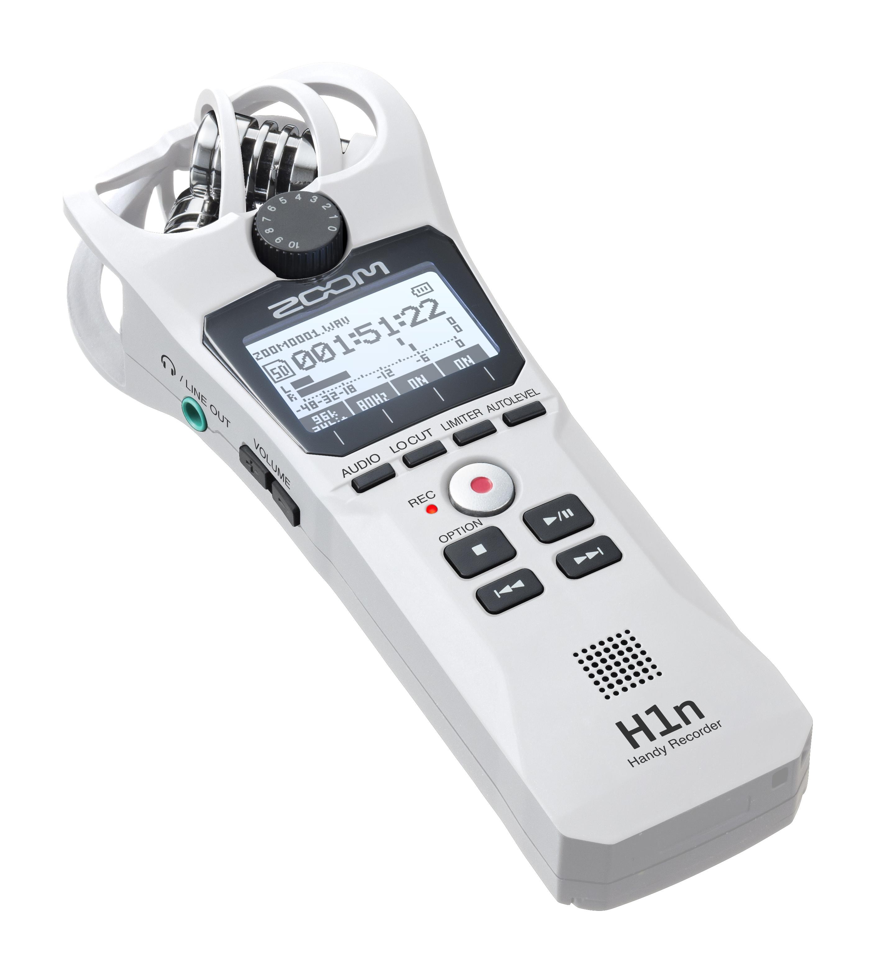 Osta Zoom H1n Handy Recorder Ltd Edition White