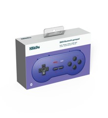 Nintendo Switch 8BitDo SN30 Bluetooth Gamepad (Blue)