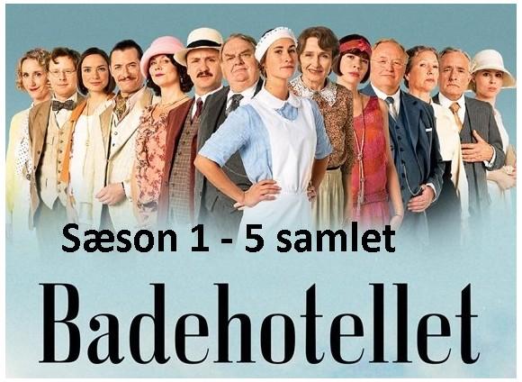 Badehotellet season 1 - 5 bundle
