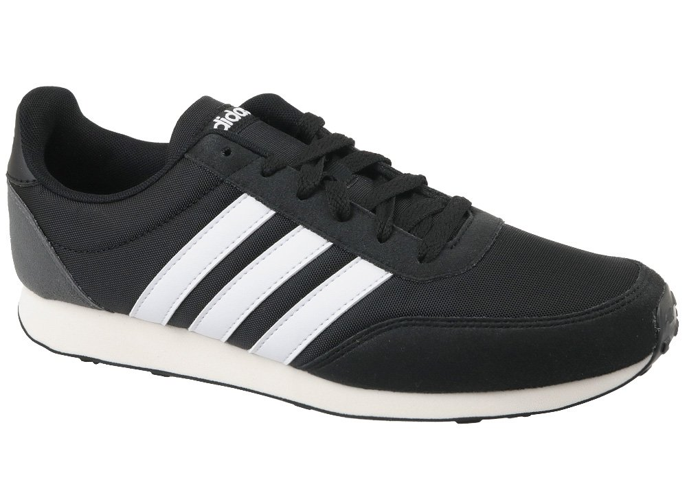 Details about Adidas V Racer 2.0 Mens Sneakers Trainers Shoes Black show original title