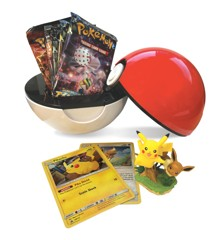 Pokemon - Poké Box - Pikachu & Eevee PokeBall Box with 5 Booster Packs (POK80407)