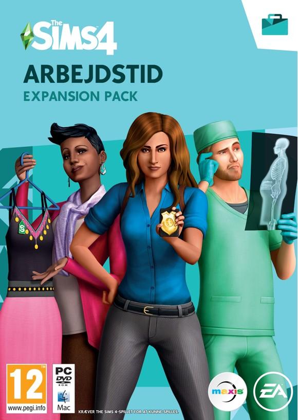The Sims 4 - Arbejdstid (DK)