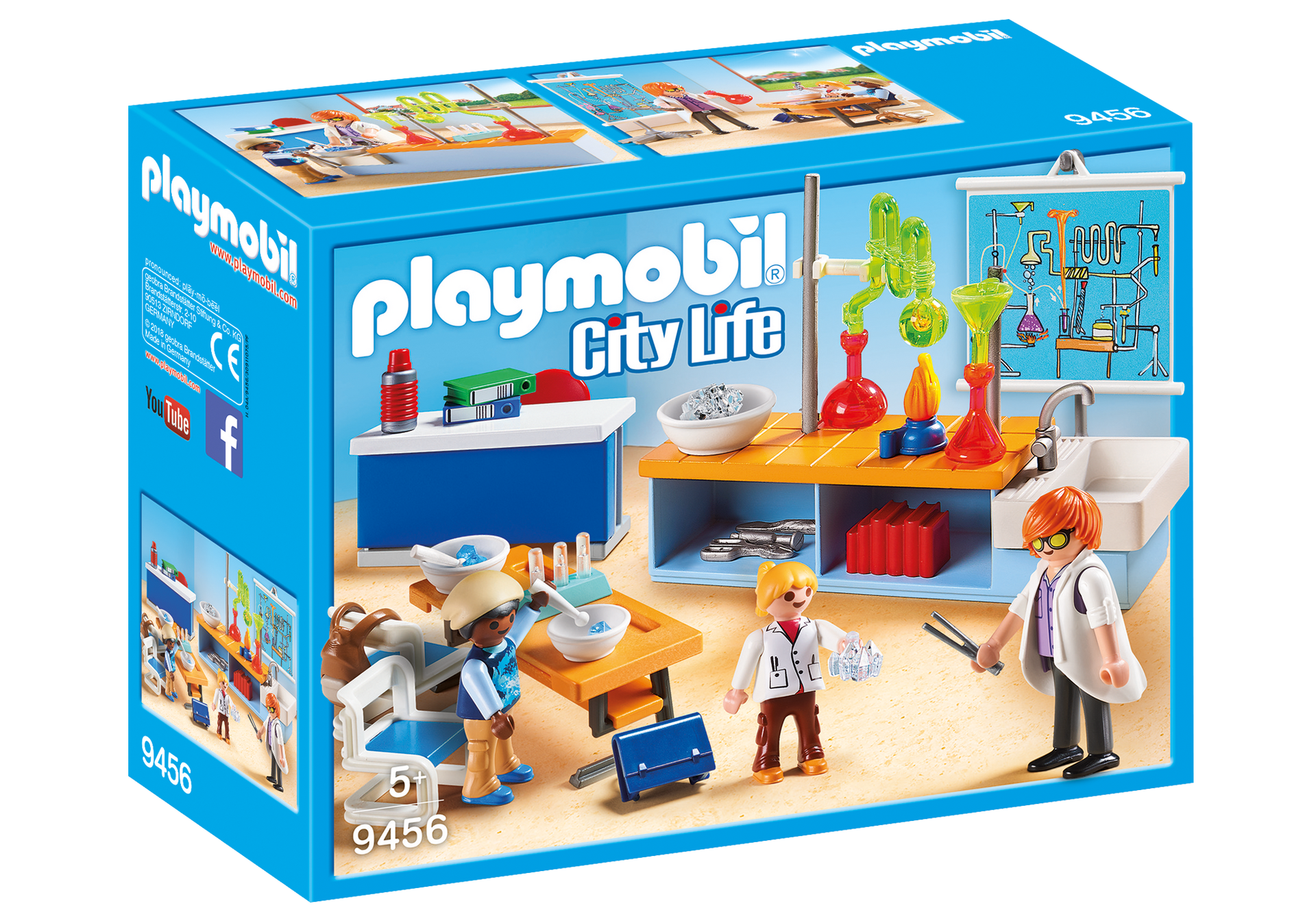 Playmobil - Chemistry Class (9456)