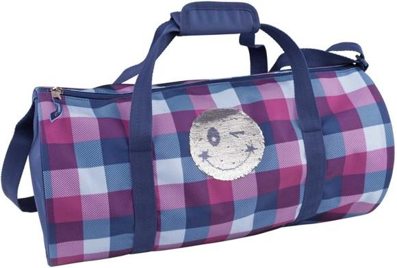 Top Model - Sportsbag Smiley Sequense - Blue (0010159)