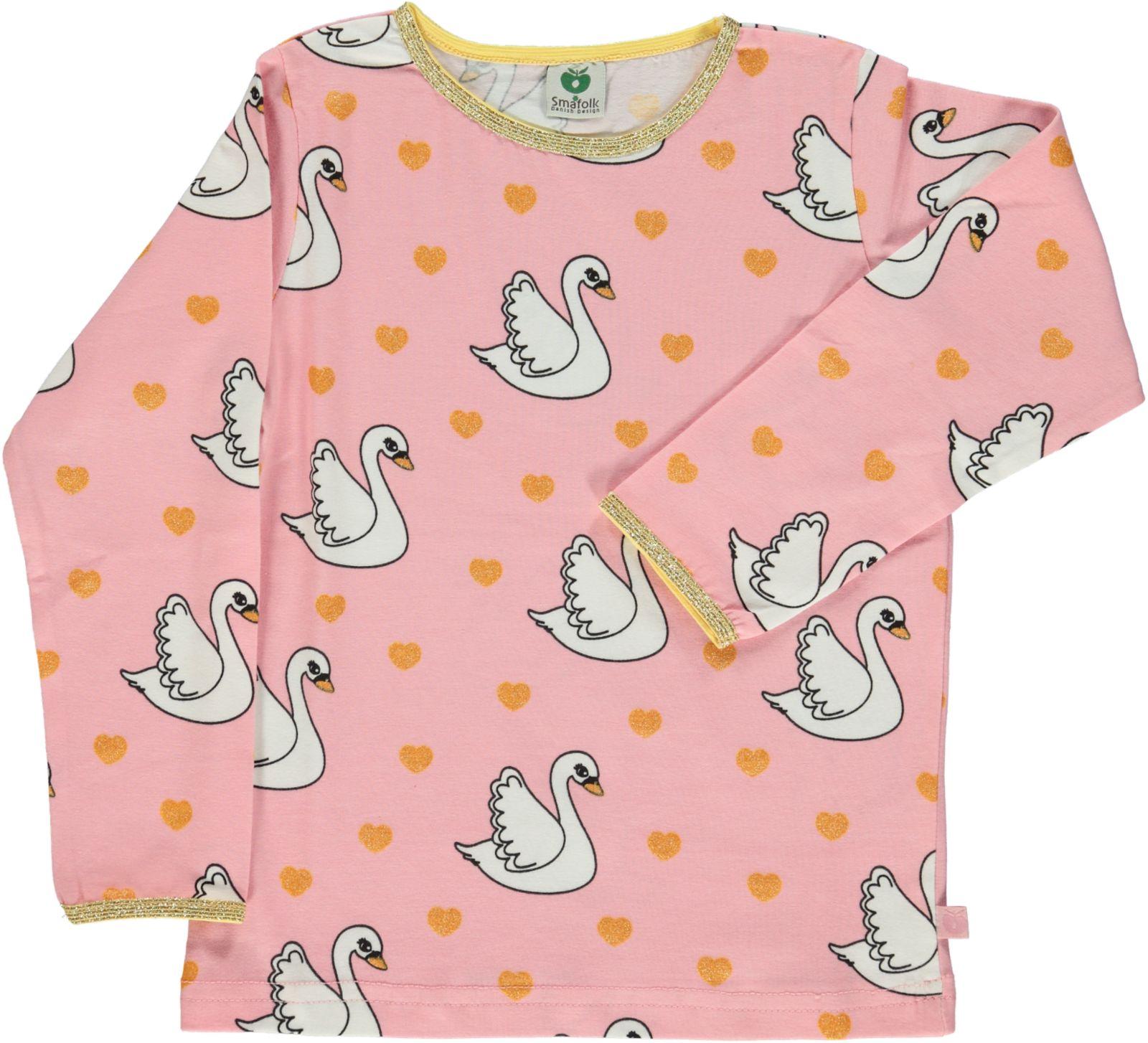 Småfolk - T-shirt w. Swan