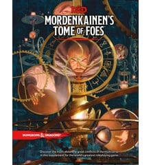 Dungeons & Dragons - Role Play - 5th Edition Mordenkainen´s Tome of Foes (English)