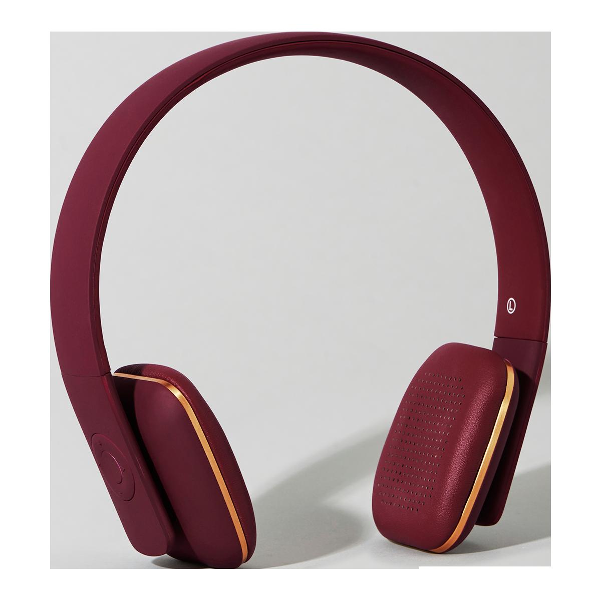 KreaFunk - aHead Headset - Plum (Kfss07)