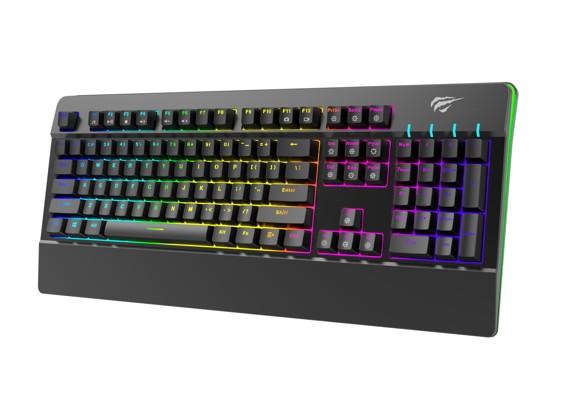 Havit - HV-KB389L-ND RGB Mekanisk Gaming Keyboard Nordisk