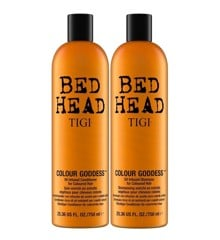 TIGI - Bed Head Colour Goddess Oil Infused Shampoo + Conditioner 2x 750 ml