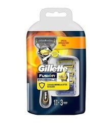 Gillette - Fusion proglide Flexball 4Up + 3x Proshield Blades