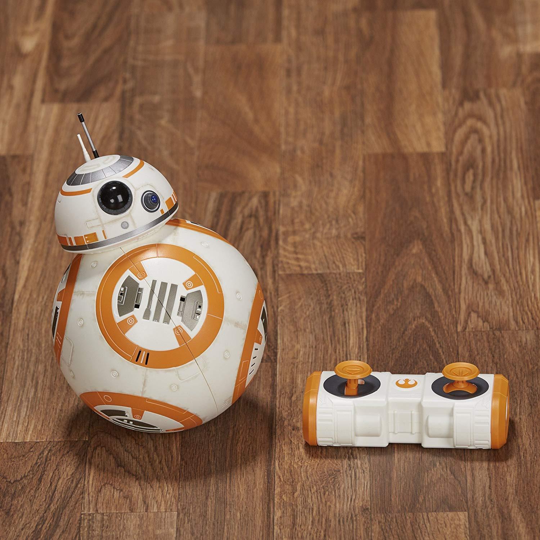 Star Wars The Last Jedi Hyperdrive BB-8 Remote Control With Light /& Sound Hasbro
