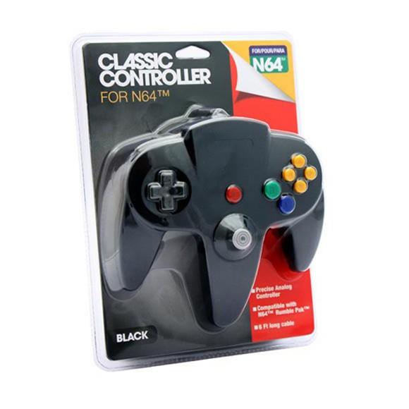 Classic N64 Controller (Black)