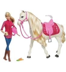 Barbie - Drømmehest med Dukke