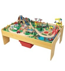 KidKraft - The Adventure Town Railway Train Set & Table (18025)