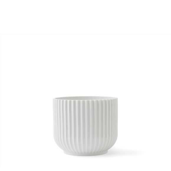 Lyngby Porcelæn - Flowerpot Ø 14,5 cm - White (201394)