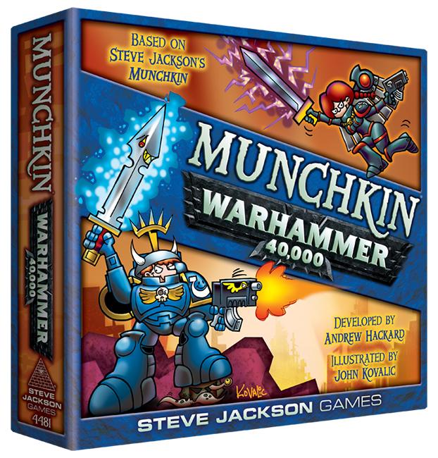 Munchkin - Warhammer 40.000 - Brætspil (Engelsk)