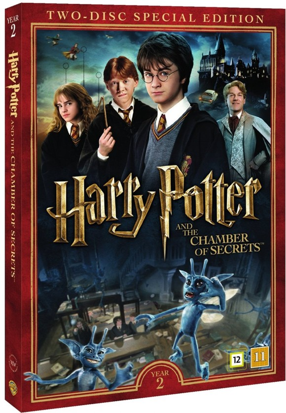 Harry Potter and the Chamber of Secrets - DVD