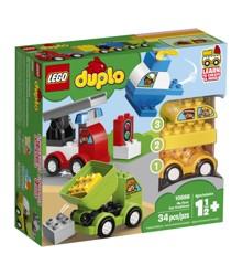 LEGO DUPLO - Mine første bilmodeller (10886)