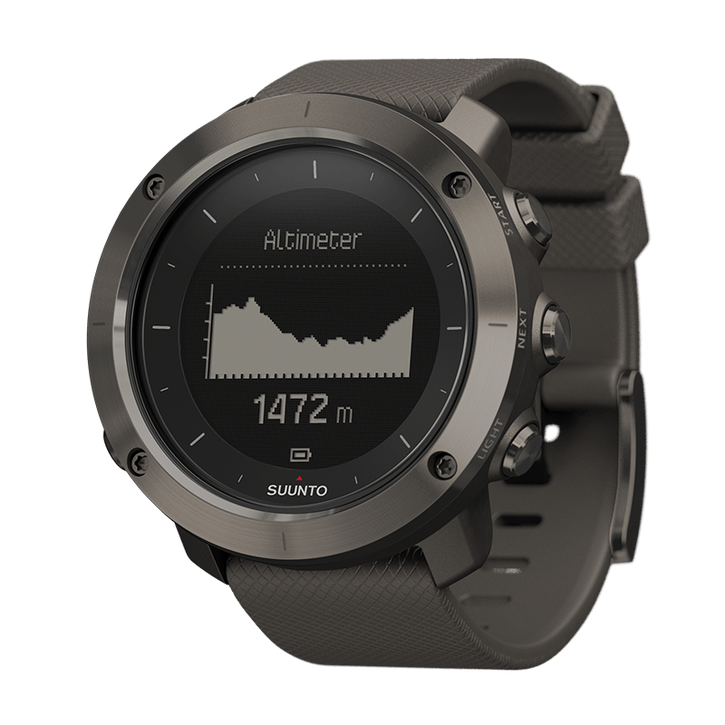 Suunto - Traverse Graphite Outdoor GPS Watch