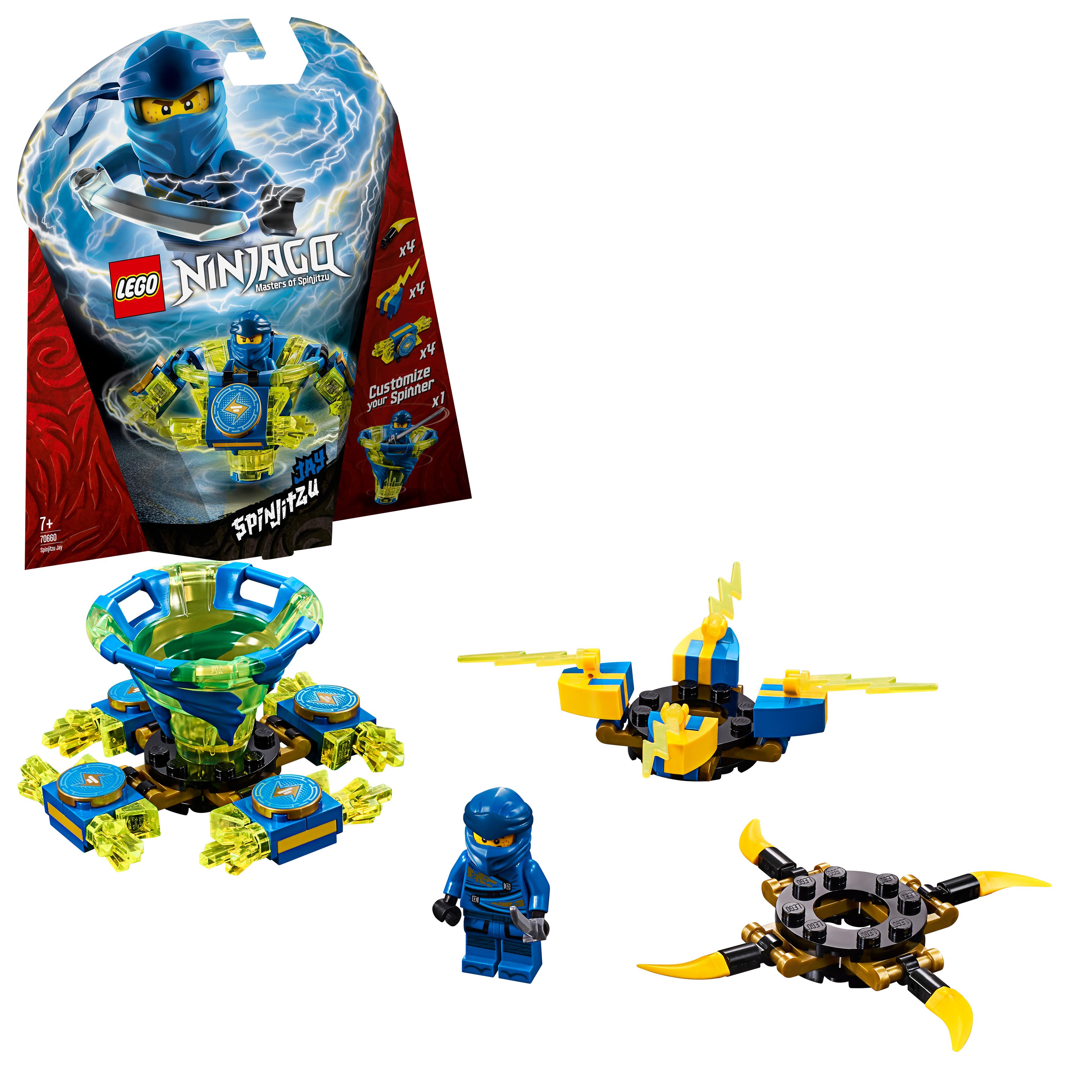 LEGO Ninjago - Spinjitzu Jay (70660)