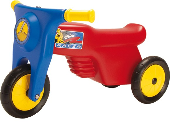 Dantoy - Scooter with rubberwheels, Red (3321)