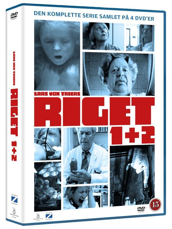Riget 1 og 2 boks - DVD