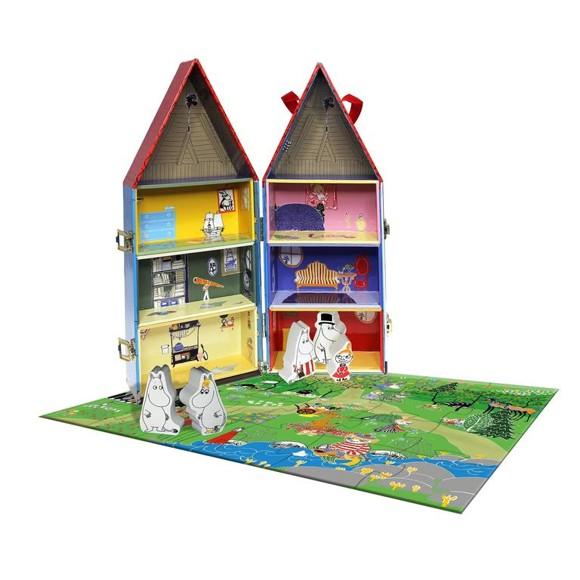 Barbo Toys - Munihus & Puslespil (24 brk.)
