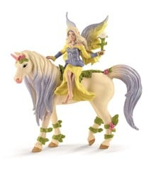Schleich - Bayala - Fairy Sera with blossom unicorn (70565)