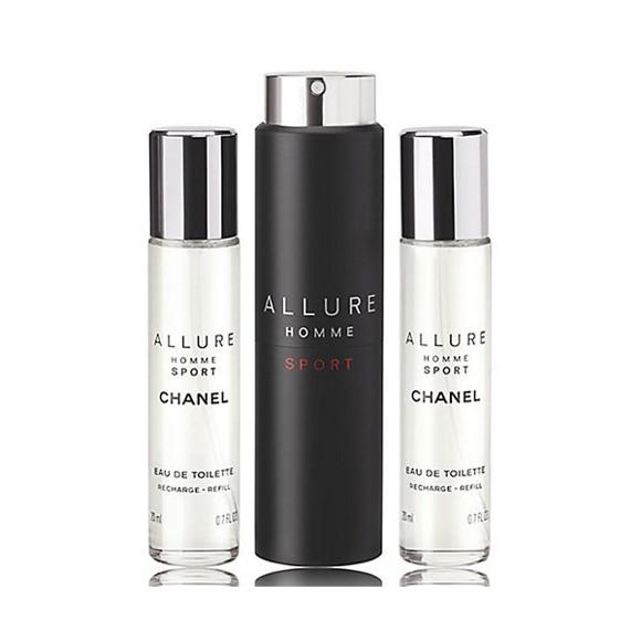 Chanel - Allure Homme Sport Twist and Spray EDT 3 x 20 ml