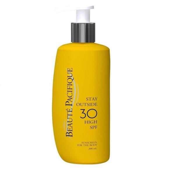 Beauté Pacifique - Stay Outside Solcreme 200 ml - SPF 30