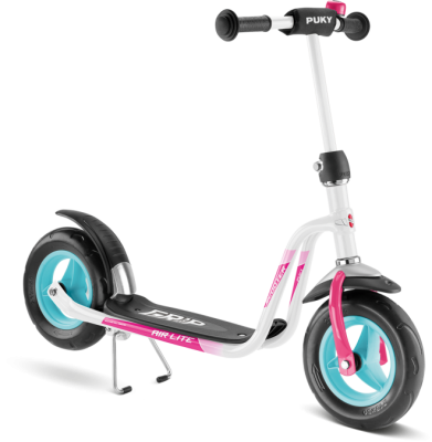 PUKY - R 03 Scooter - White/Pink (5342)