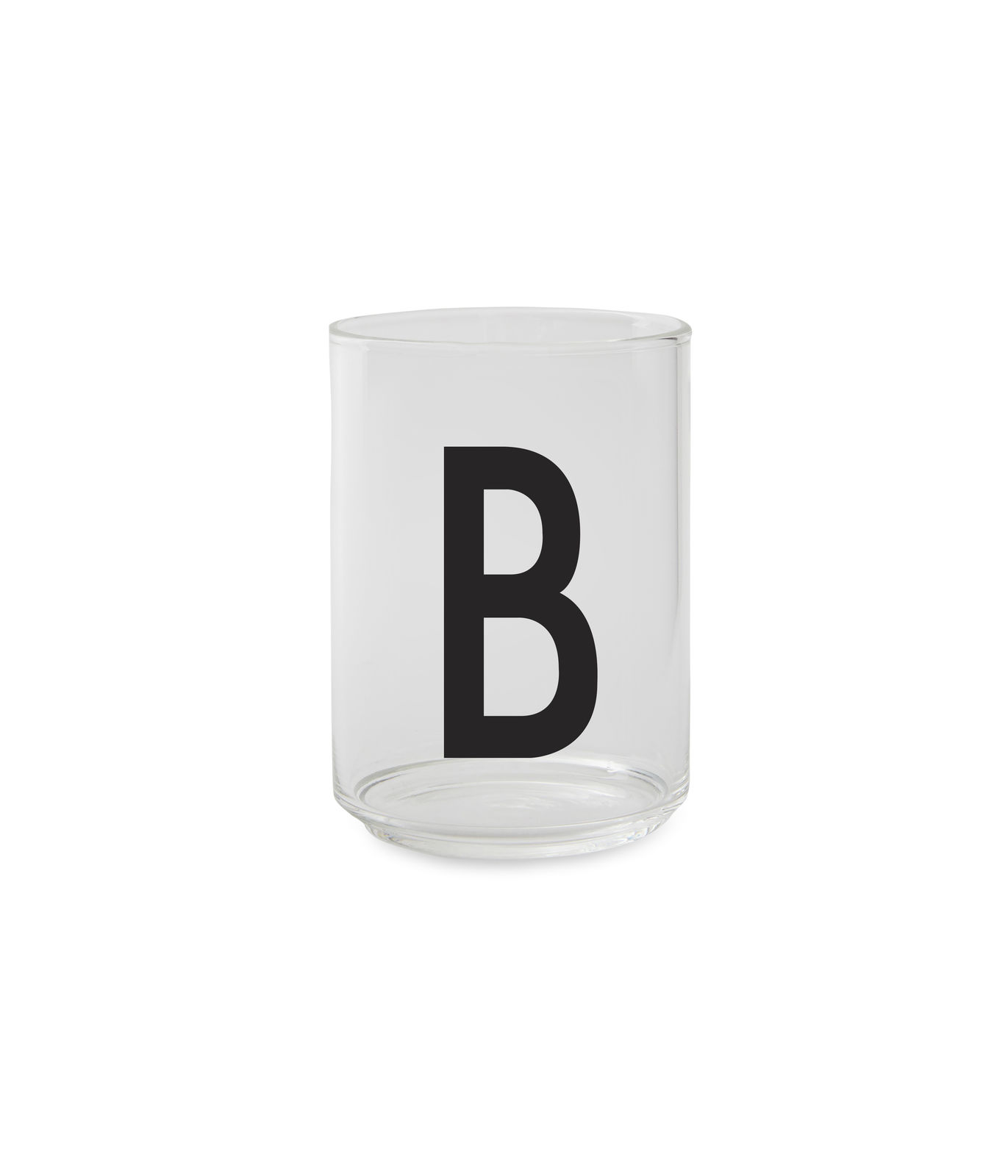 ?Design Letters - Personal Drinking Glass B