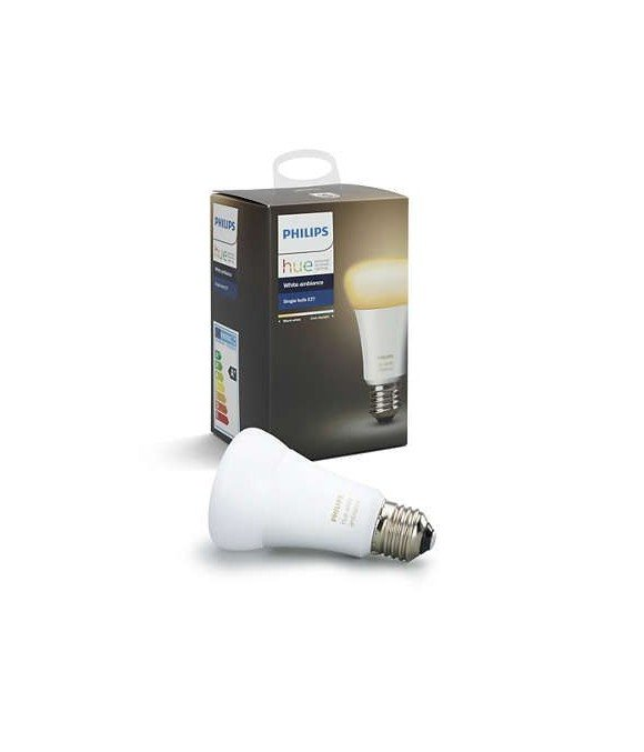 Philips Hue - E27  Single Bulb  - White Ambience - Bluetooth