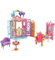 Barbie - Dreamtopia - Regnbue Slot - Foldbart  (FTB15)