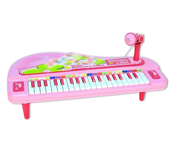 Bontempi - Small piano w / microphone and light effects (40102071)