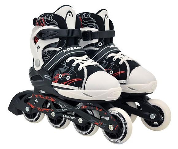 Head - Adjustable Inliners - Black/White (size: 31-36 ) (895118340xxM)