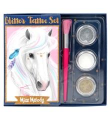 Miss Melody - Glitter Tattoo Set (410010)