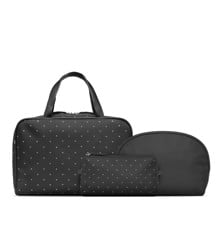 Studio - 3 Pcs Toiletry Bag Set - Black w. Stars