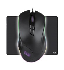 DON ONE – SANTORA Gaming Mouse + AMATO Mousepad Large