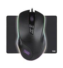 DON ONE – SANTORA Gaming Mouse + AMATO Mousepad Large