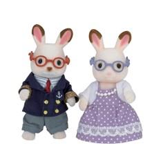 Sylvanian Families - Chocolate Rabbit Grandparents (5190)